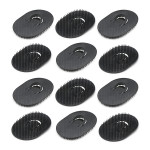 12pcs Mens Pocket Palm Hair Brush Shampoo Brush