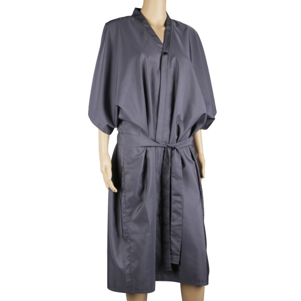 Salon Spa Kimono Robe Smock Dress