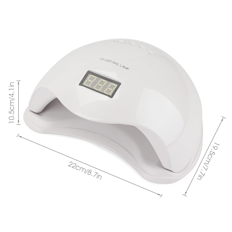 Segbeauty 48W LED UV Nail Polish Cure Nail Dryer Nail Lamp for Nail ...