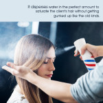 Segbeauty 160ml Refillable Hair Sprayer Ultra 360° Fine Mist Continuous Spray Bottle_Stripe