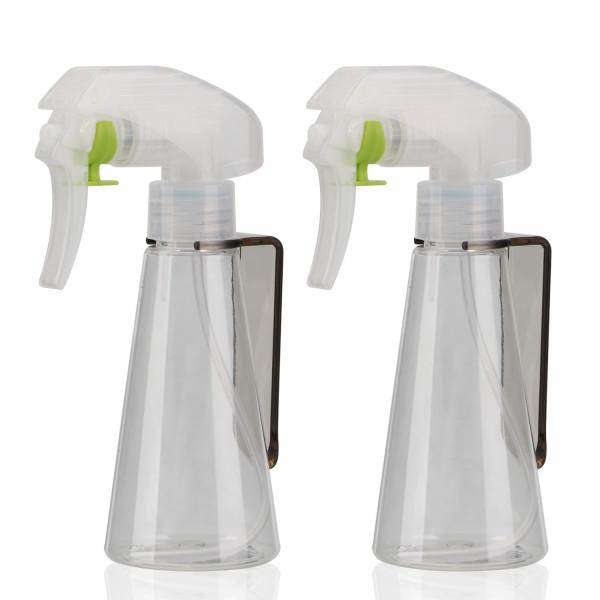 Segbeauty 2pcs 100ml Transparent Spray Bottles Super Fine Mist Watering Sprayer for Salon/Plants Flowers/Pets