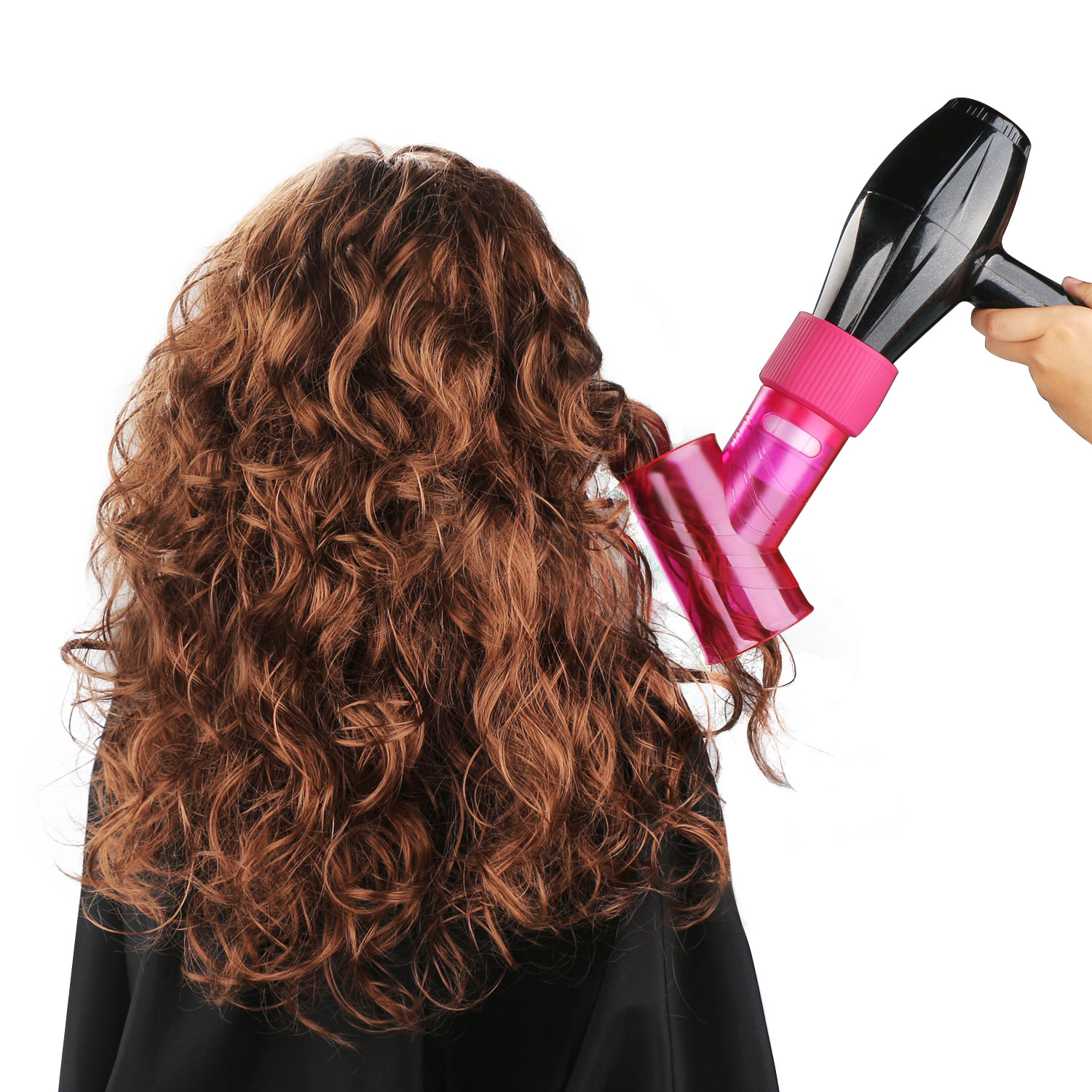 Segbeauty Wind Spin Hair Dryer Diffuser for Curly Wavy Permed Hair ...