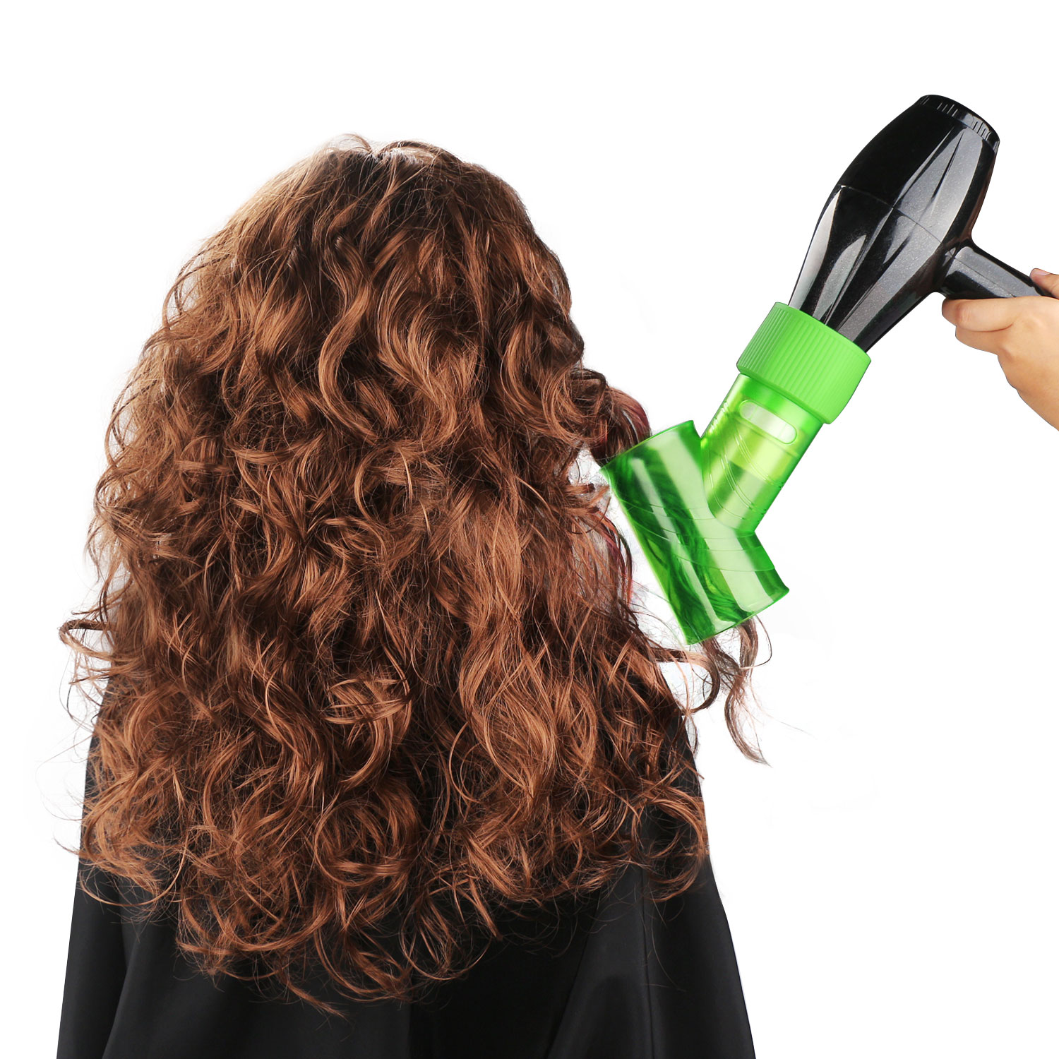 Wind Spin Hair Dryer Diffuser For Curly Wavy Permed