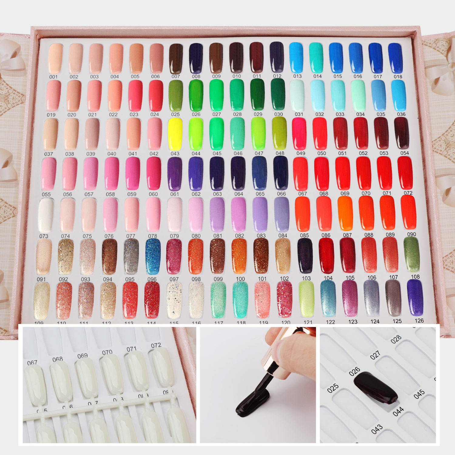 Nail Colors: Segbeauty 126 Colors Professional Nail Polish Colors Chart