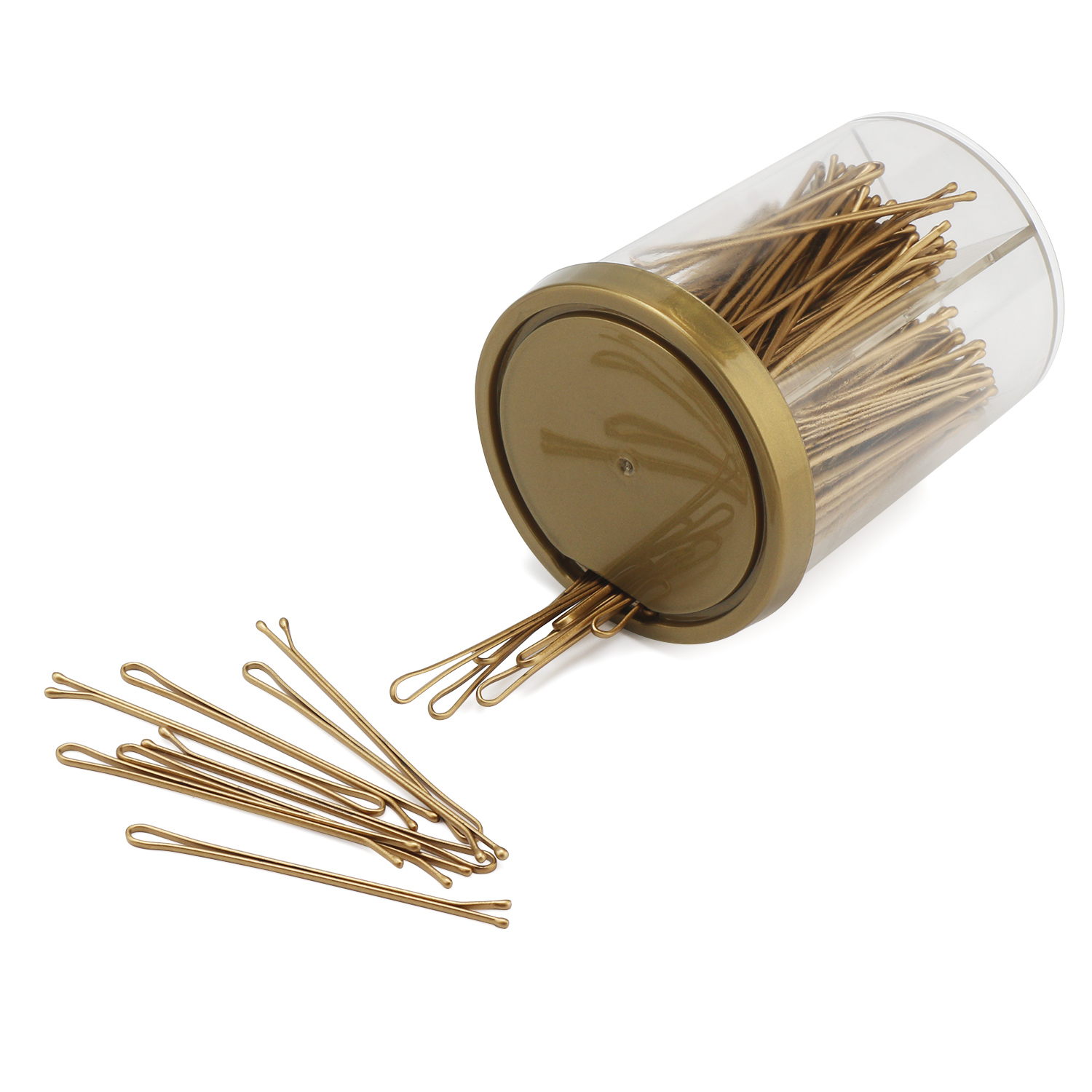 70mm Narrow Bobby Hairpin Brush Styling Essentials Pins Blonde