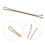 Segbeauty 70MM Narrow Bobby Hairpin Brush Styling Essentials Bobby Pins Hair Clips Tools_Blonde