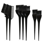 Segbeauty 7pcs Hair Color Brushes Feather Bristles on Hair Dye DIY/Professional Tint Brush Set for Bleached