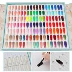 Segbeauty 720pcs Natural Fake Nail Tips Beauty Nail Art Full Cover Acrylic Flat Shape Manicure False Nail Tips