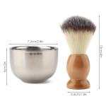 Segbeauty Beard Lather Brush, Beard Shaving Soap Bowl,Traditional Wet Shaving Kit
