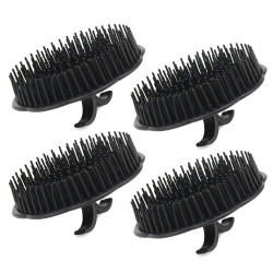 Segbeauty 4pcs Scalp Massager Shampoo Brush Scalp Massager for Hair Growth Spa Slimming Massage Brush