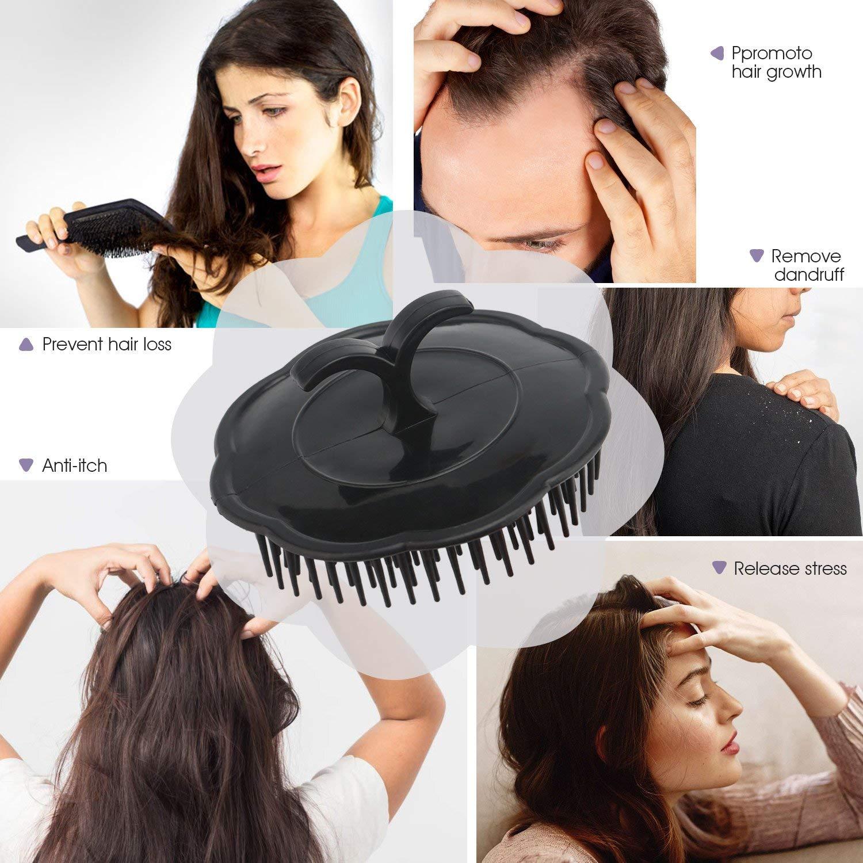 Segbeauty 4pcs Scalp Massager Shampoo Brush Scalp Massager