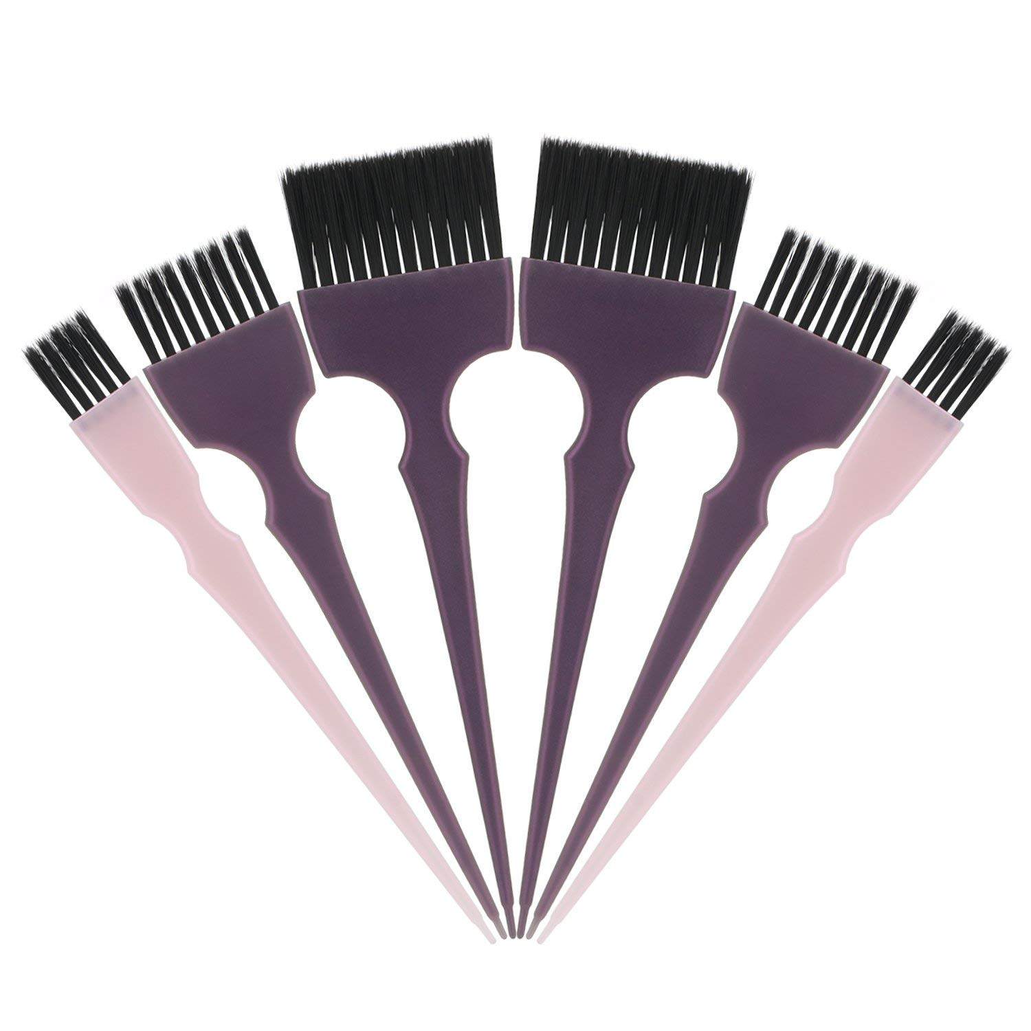 Segbeauty Hair Dye Brush 6pcs Tint Brush Set Hair