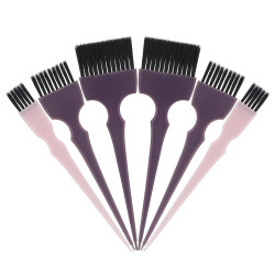 Segbeauty 6pcs Hair Dye Brush Tint Brush Set Hair Coloring Brushes Hairdressing Tinting Bleach Styling Color Set