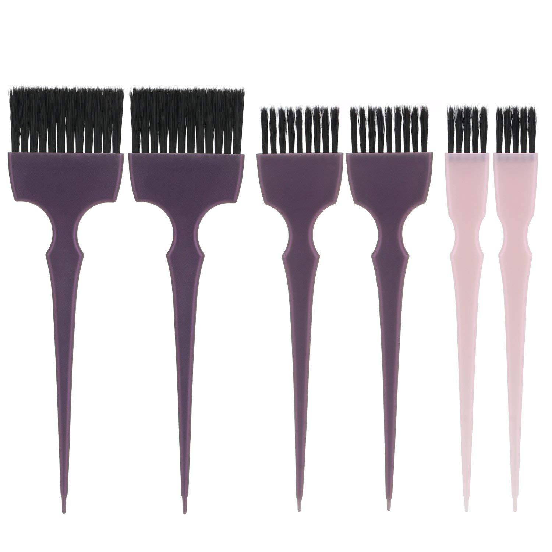 Segbeauty Hair Dye Brush 6pcs Tint Brush Set Hair