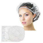 Segbeauty Stretchable Thick Disposable Shower Cap 100pcs Processing Hair Salon Caps