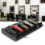 Barber Clipper Tray, Segbeauty Anti-slip Black Salon Clippers Organizer Razor Case