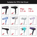 Segbeauty Universal Curly Hair Diffsuer Adaptable Gale Wind Mouth Cover Hairstylist Blow Dryer Diffuser Attachment