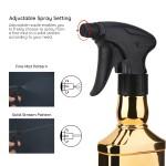 Segbeauty 2pcs Barber Water Spray Bottle 8.79oz/260ml Adjustable Hair Mist Sprayer Bottles for Salon Hair Styling
