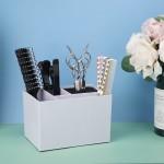 Segbeauty Antislip Hairdressing Scissors Stand Case Salon Hairpin Storage Box Scissors Organizer for Hair Cutting