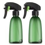 Segbeauty 2 Pack 200ml Spray Bottle All Angle Upside Down Fine Mist Spray Bottles Plastic Leak-proof Misting Trigger Bottle