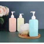 Segbeauty 3pcs Pump Bottle Dispenser 9.47oz/280ml Shower Dispenser Bottles Refillable Liquid Soap Shampoo Conditioner