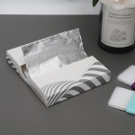 Segbeauty 100 Counts Hair Dyeing Pop-up Foils Aluminum Foil Sheets Salon Embossed Pre-cut Highlighting Foils
