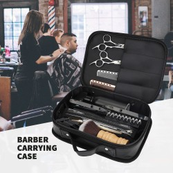Segbeauty Barber Storage Bag Hair Styling Cutting Grooming Dryer Clippers Shears Combs Organizer