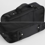 Segbeauty Barber Clipper Bag Hair Styling Canvas Travel Tool Case Hair Cutting Thinning Grooming Storage Organizer