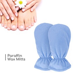 Segbeauty Paraffin Wax Mitts SPA Heated Hand Mittens Hot Wax Hand Therapy Paraffin Thermal Treatment Therabath Wax Gloves