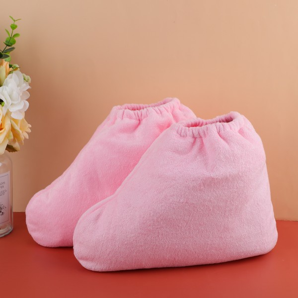 Segbeauty Paraffin Wax Foot Liners Larger Paraffin Heated Foot SPA Booties for Hot Wax Hand Therapy