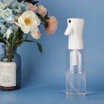 Segbeauty 500ml/16.9oz Clear Fine Mist Spray Water Bottle Hair Empty Sprayer Continuous Plastic Refillable Misting Trigger