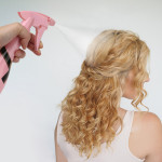 Segbeauty Adjustable Empty Spray Bottle 9.8oz/280ml Plastic Champagne Design Hairdresser Fine Mist Spray Bottle